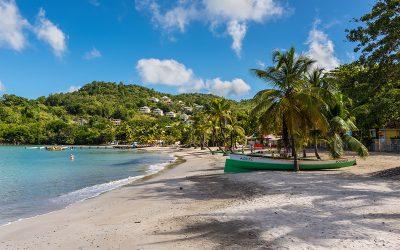 Top 4 : Les plages sauvages de la Martinique