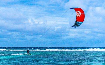 Le kitesurf en Martinique